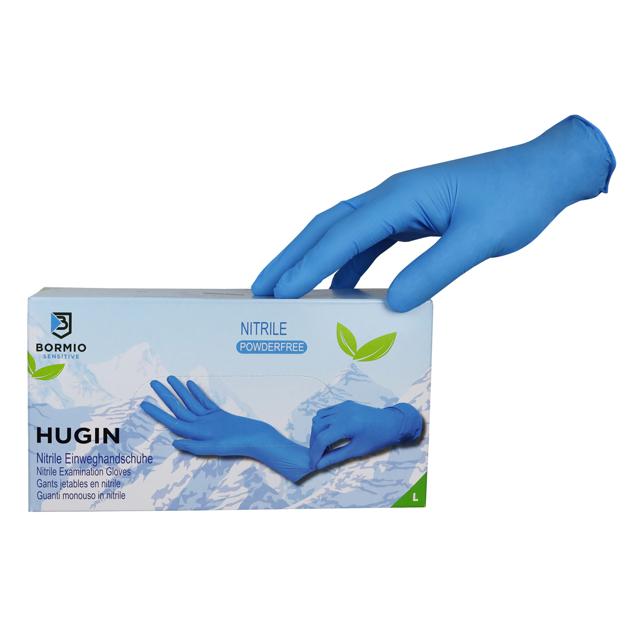 Image de Hugin Nitrile Disposable Gloves
